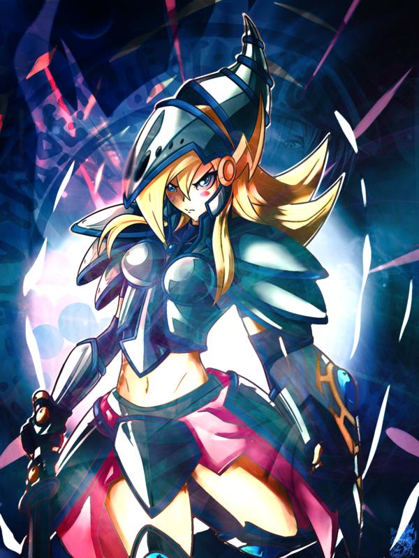 DeviantArt: More Like Wallpaper Dark Magician Girl by Igor