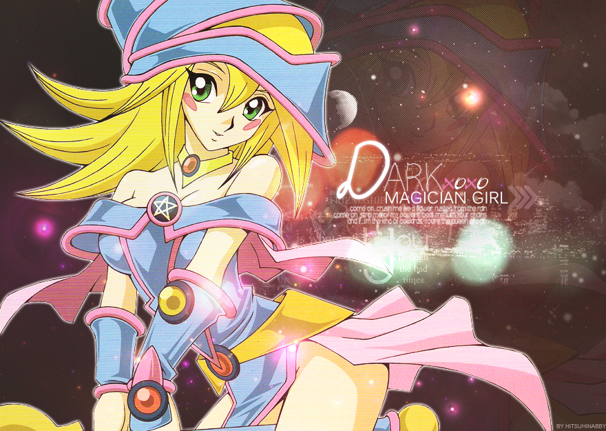 Dark Magician Girl Wallpaper by hitsuhinabby on deviantART | Dark