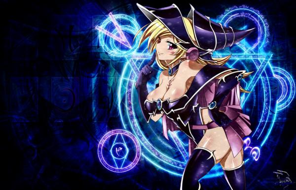 DeviantArt: More Like Wallpaper Dark Magician Girl The Dragon