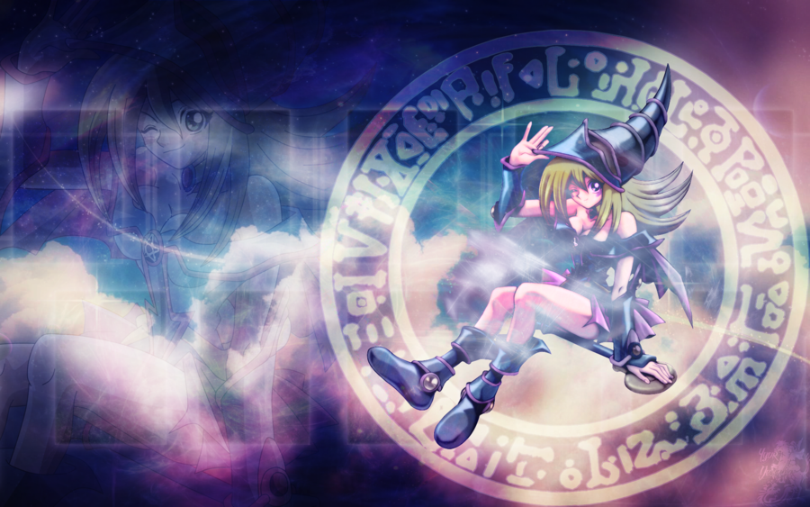 Collection of Dark Magician Girl Wallpaper on HDWallpapers