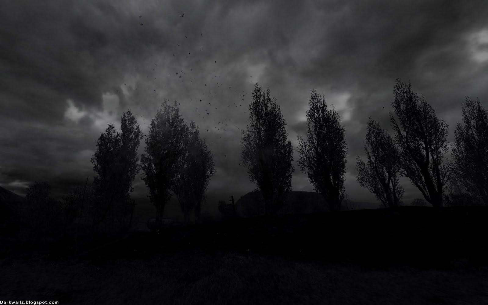 Dark Widescreen Wallpaper