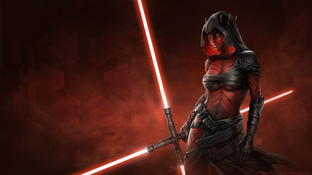 Sister Of Darth Maul Wallpaper Size By Danyiart On DeviantArt