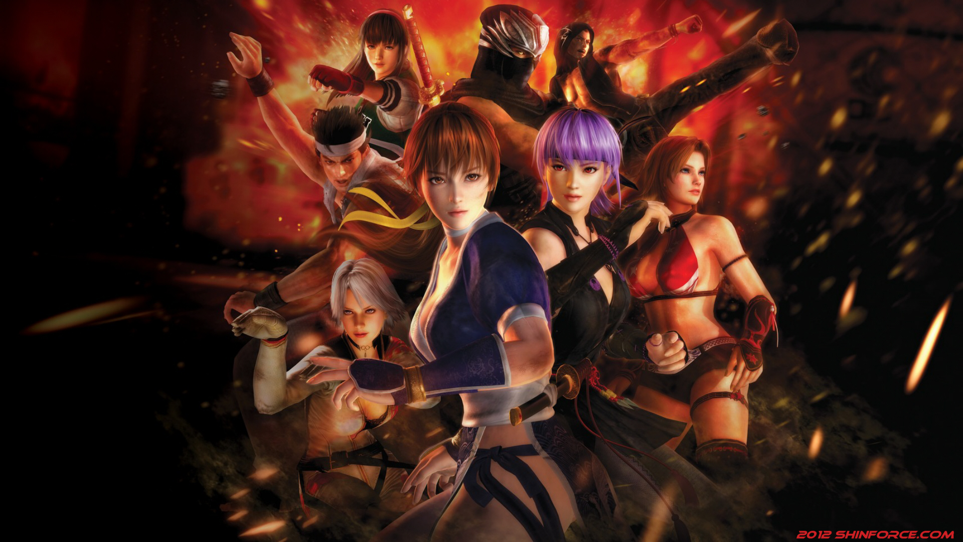 Dead or Alive 5 - Wallpaper/ Microsoft Xbox 360 Games | Sega