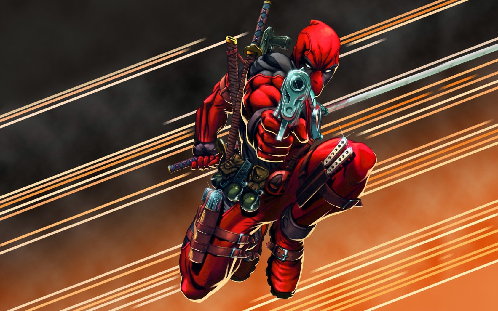 deadpool comic wallpaper