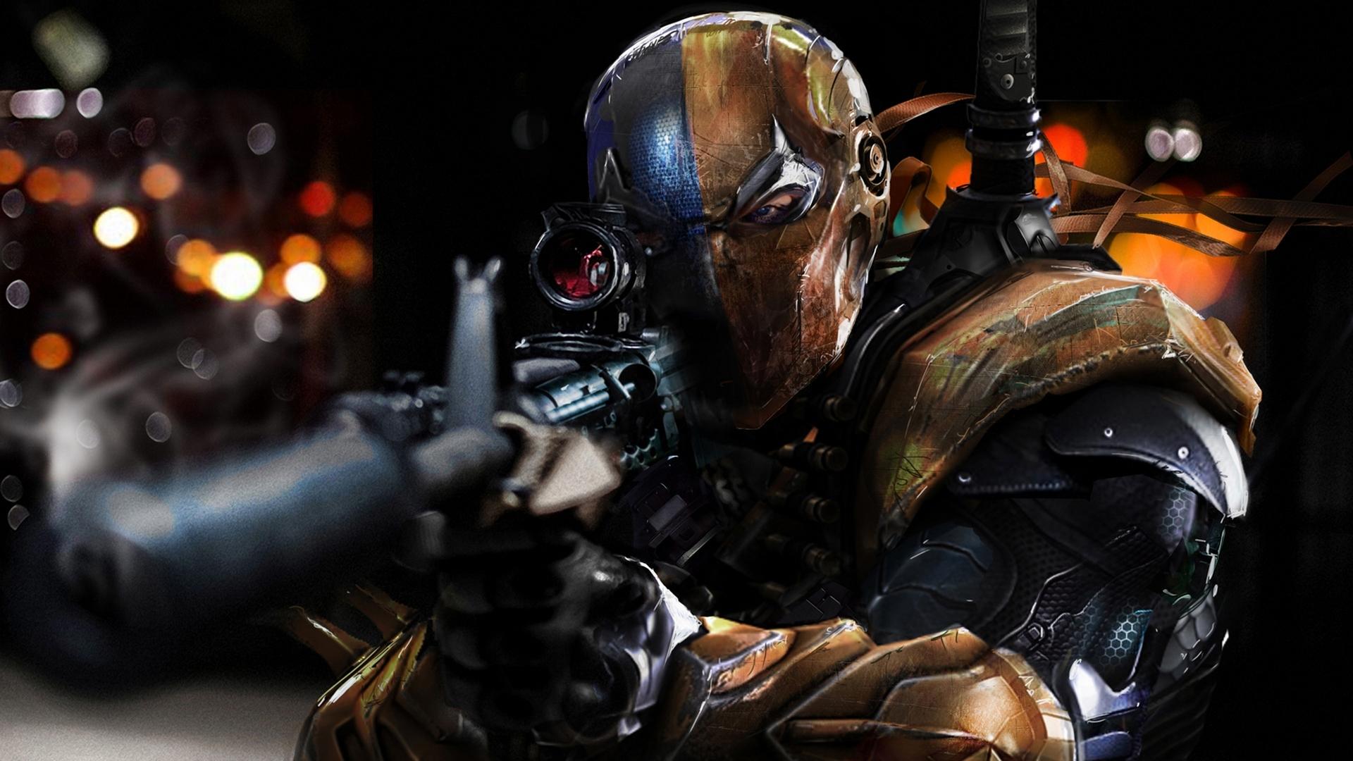 Deadpool Vs Deathstroke Wallpaper Photo - Wickedsa com