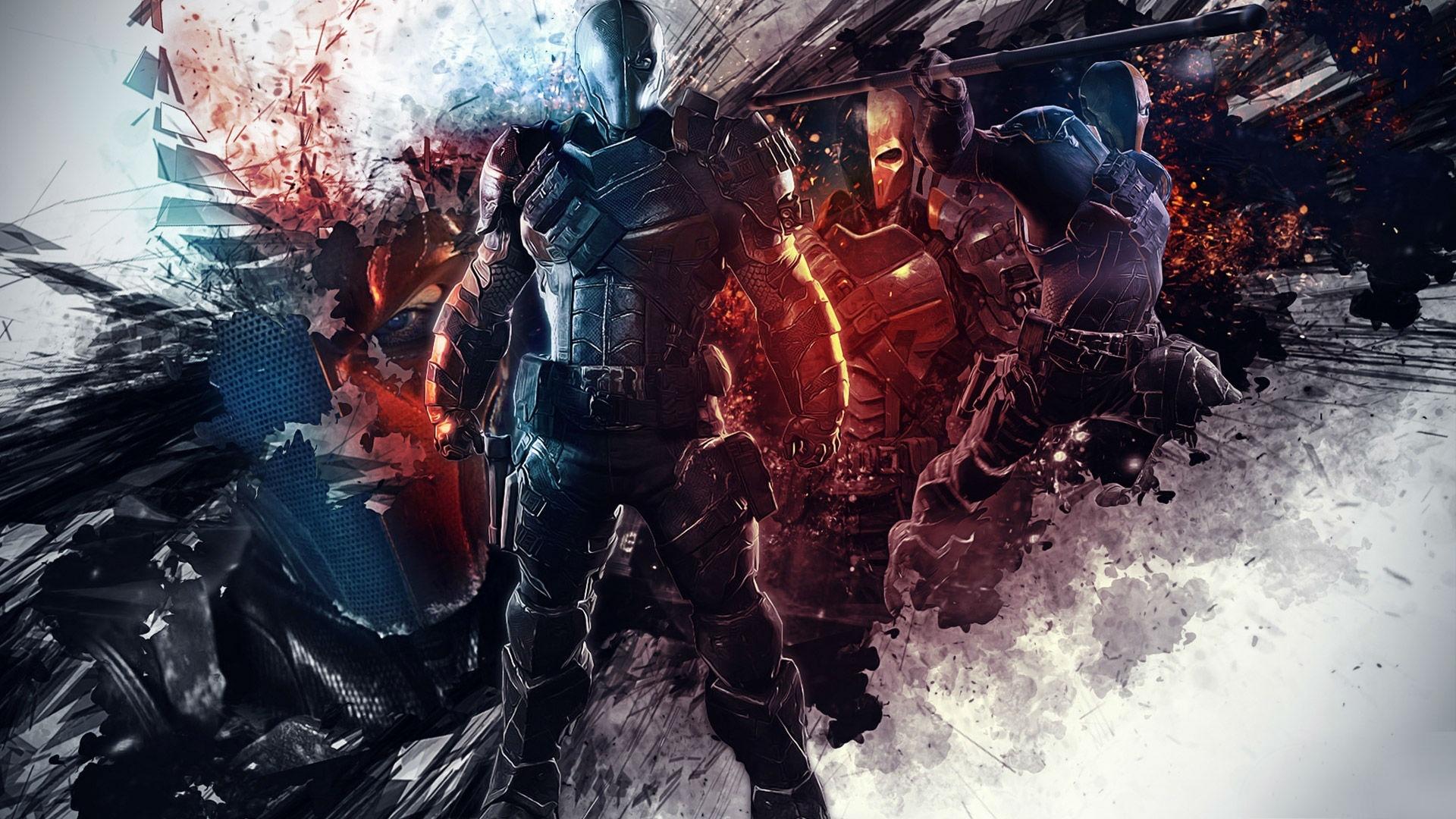 Deadpool Vs Deathstroke Wallpaper Desktop Background - Wickedsa com