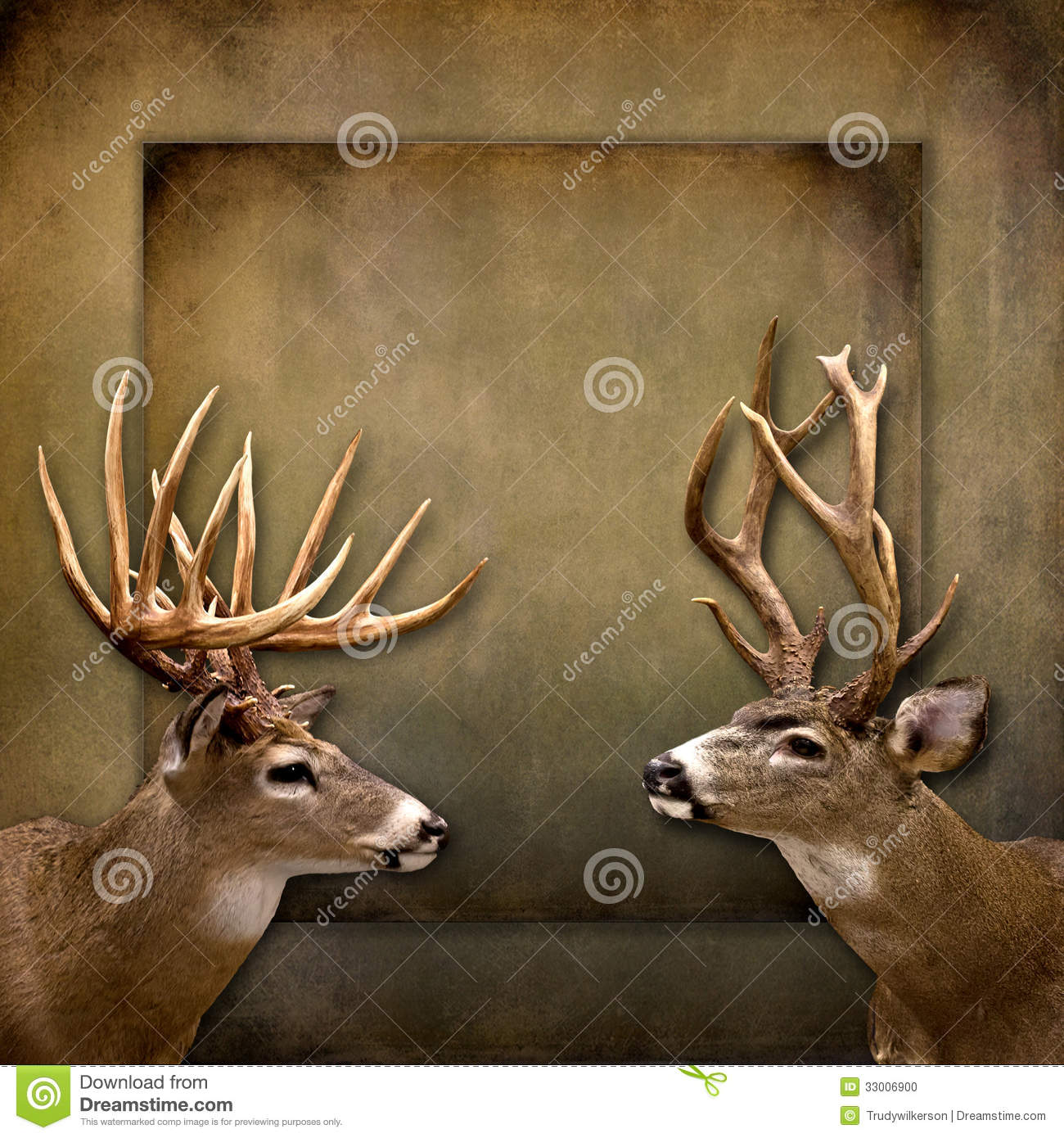 Buck/Deer Background Stock Photo - Image: 33006900