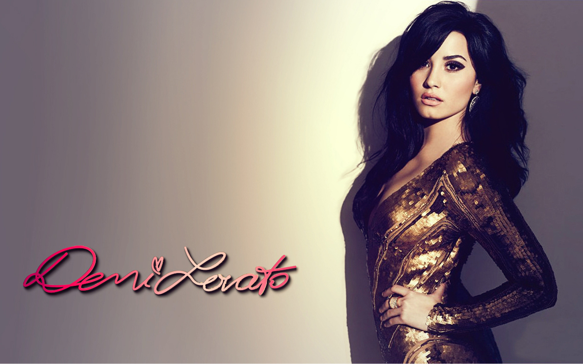 Download x wallpaper demi lovato hot and beautiful singer