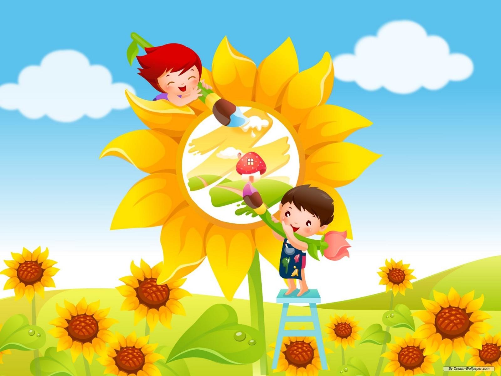 Children S Wallpaper - WallpaperSafari
