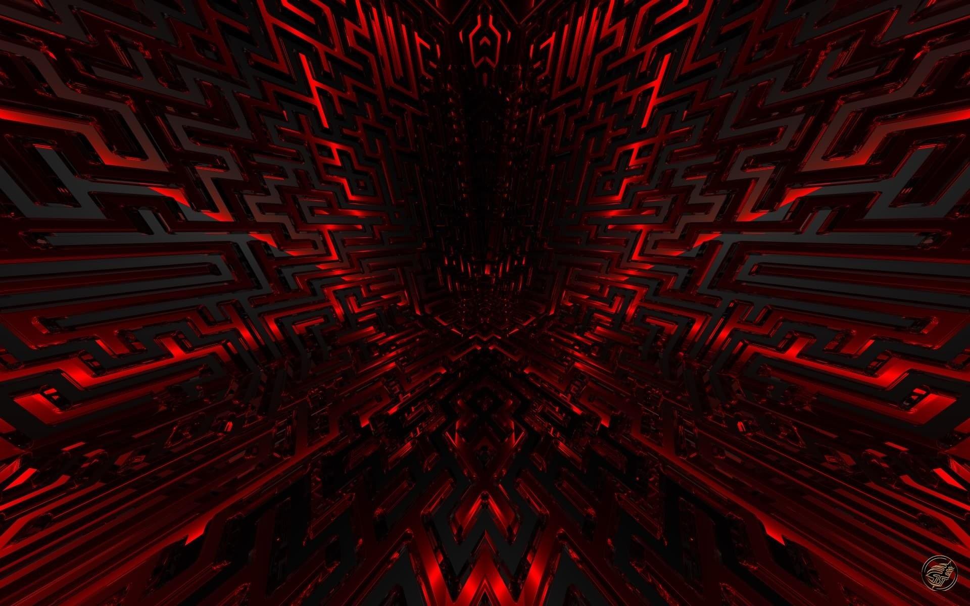 Red 3d Desktop Wallpapers
