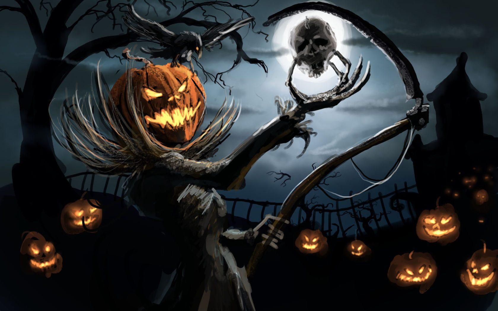 halloween desktop wallpaper free 33A | wpdopest