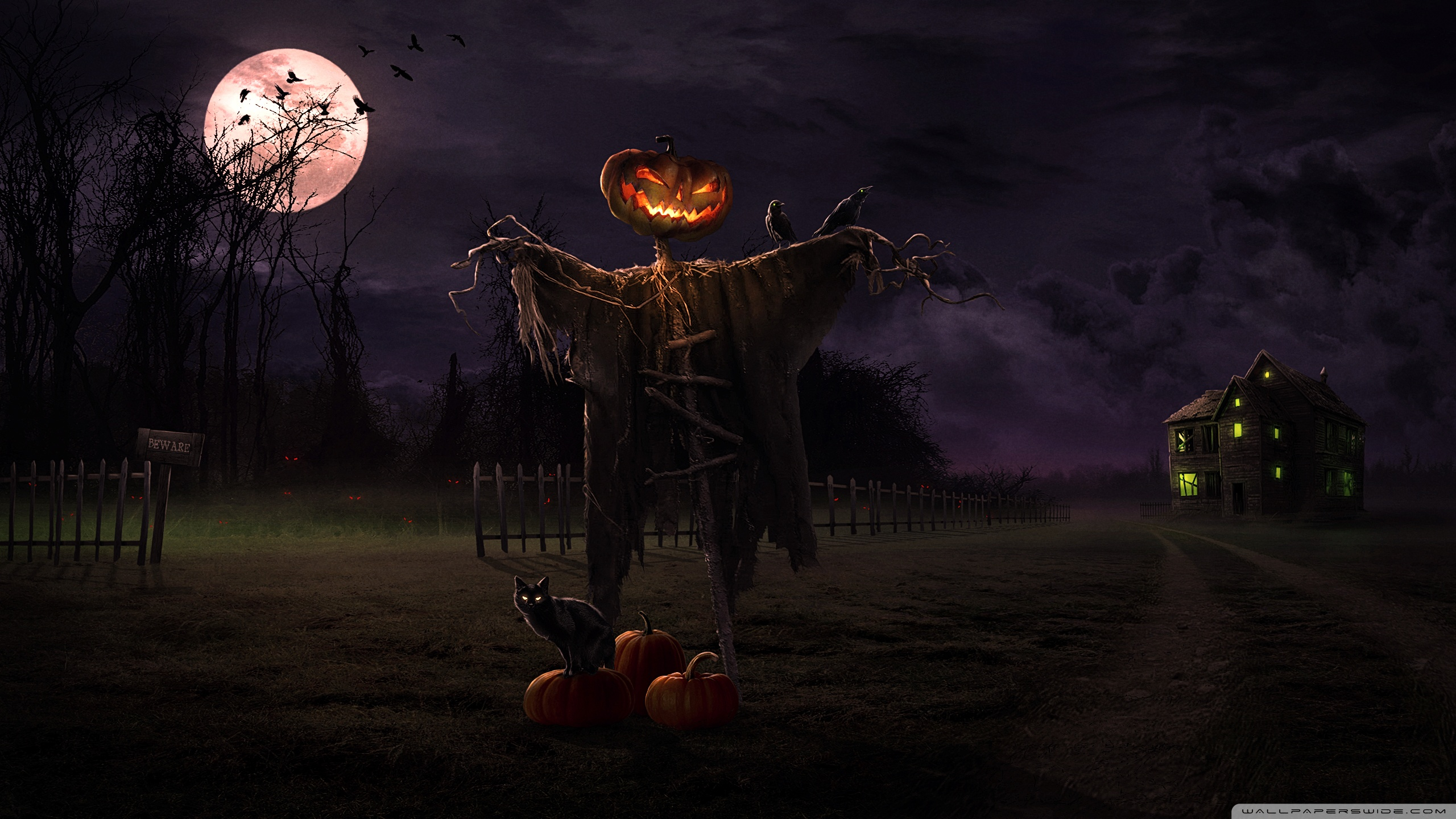 WallpapersWide com | Halloween HD Desktop Wallpapers for