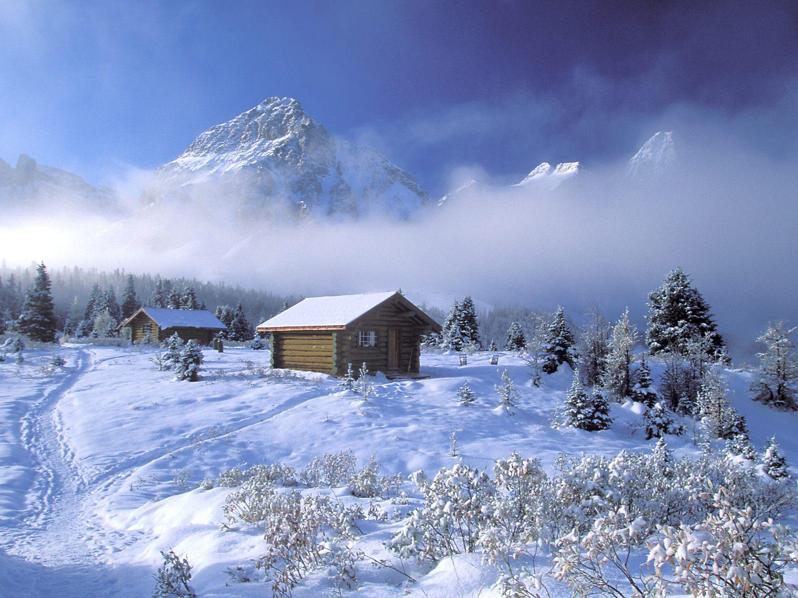 Free Desktop Wallpapers Winter Scenes - Wallpaper Cave