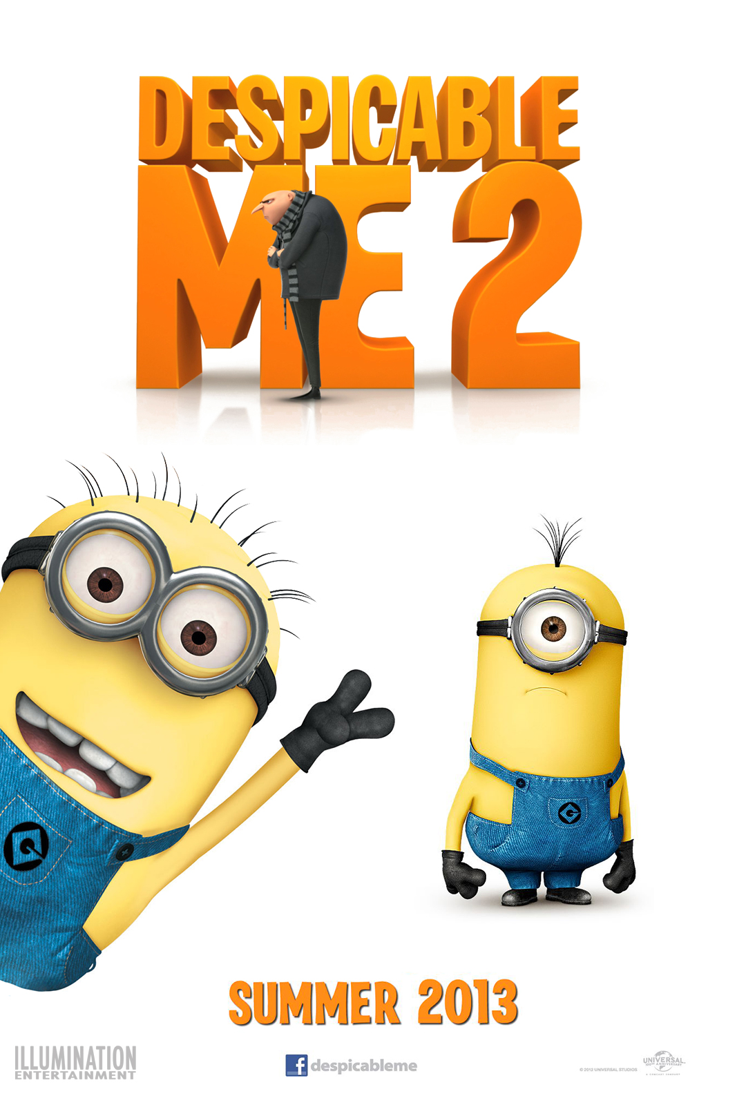News and Views by Chris Barat Movie Review DESPICABLE ME