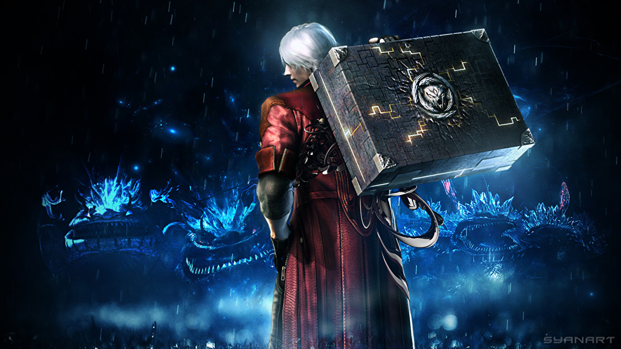 Wallpapers Devil May Cry Devil May Cry 4 Men Dante Games 3D