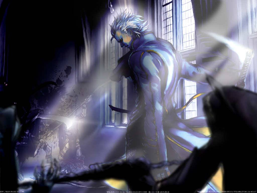 Devil May Cry Vergil Stand Wallpaper - Devil May Cry Wallpaper