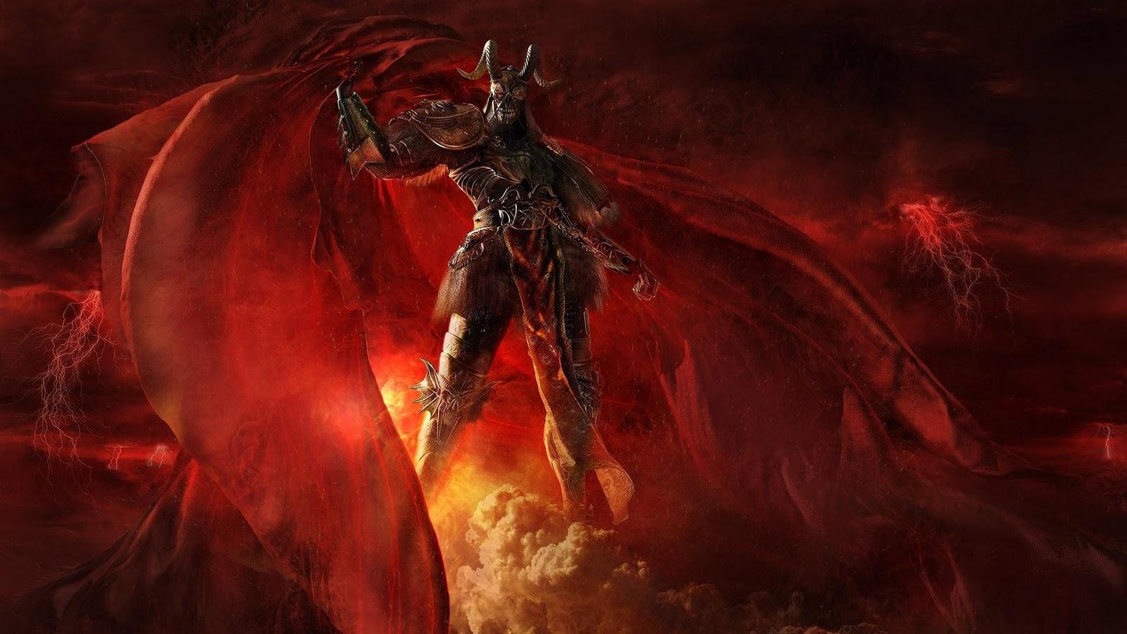 Devil Wallpaper HD - WallpaperSafari
