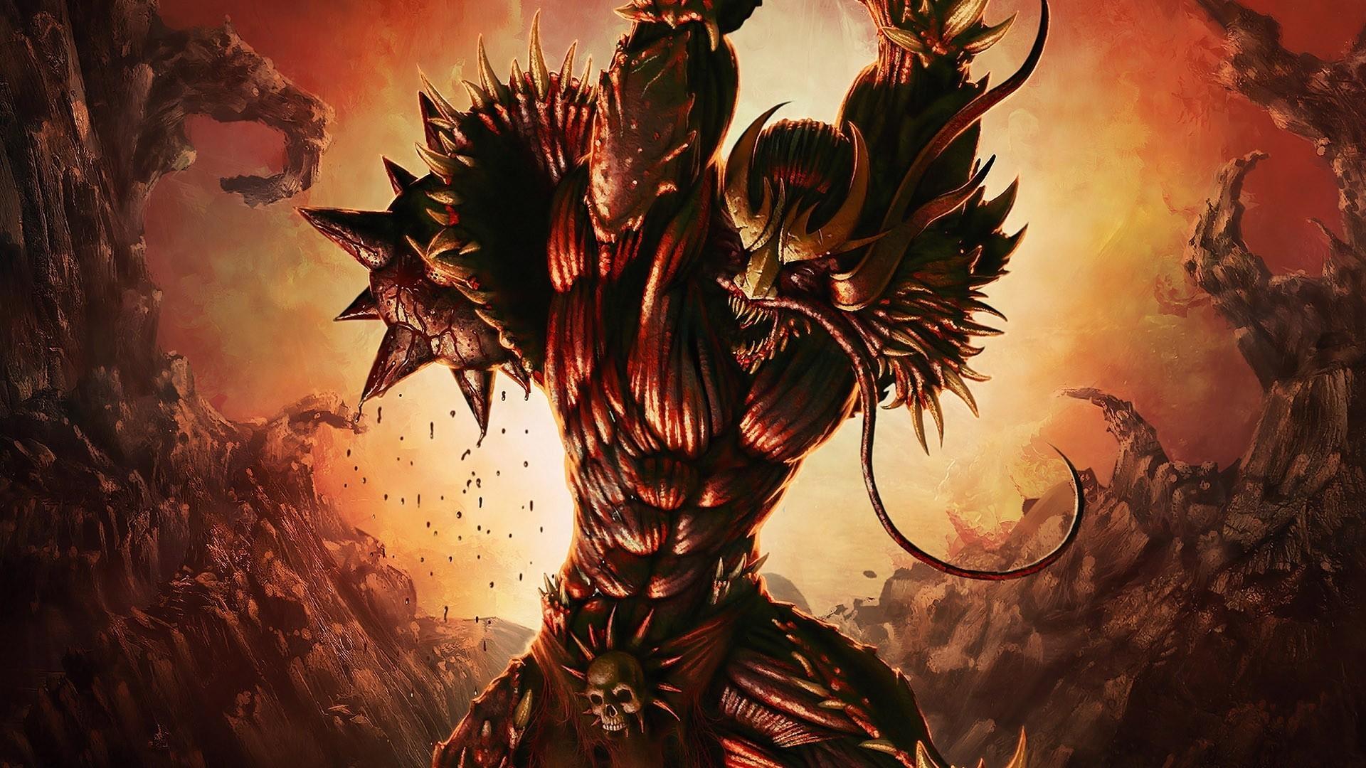 Spikey Devil HD Phenomenal Wallpaper Free - Download Spikey Devil