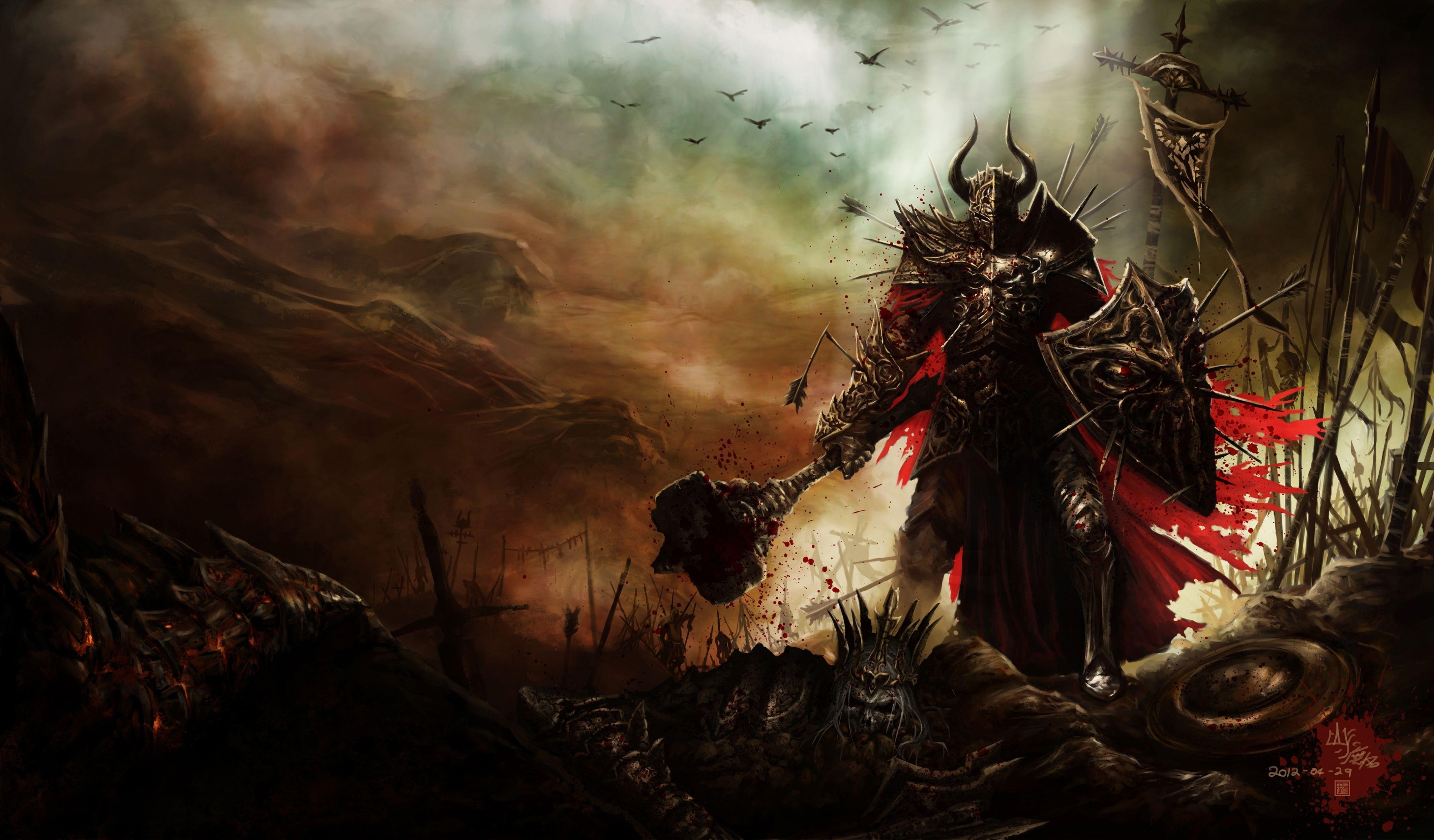 424 Diablo III HD Wallpapers | Backgrounds - Wallpaper Abyss