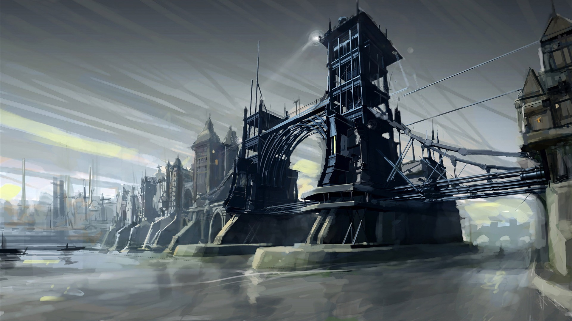 Dishonored Wallpaper In HD #Steampunk #Victorian #Dishonored