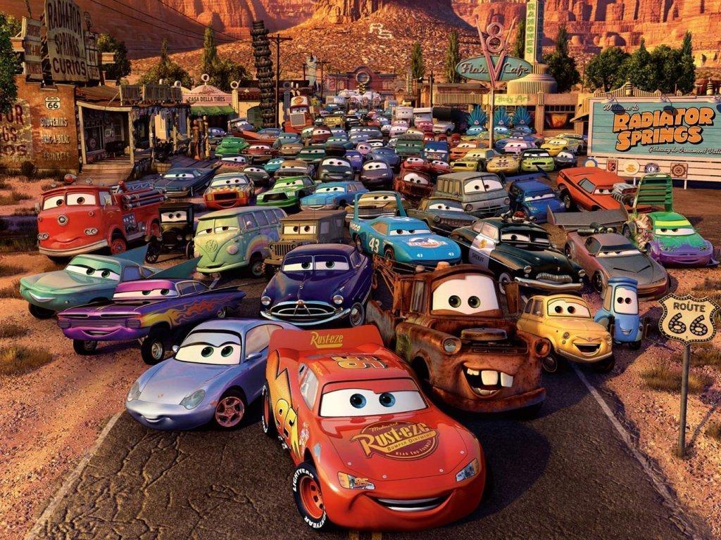 Disney Cars Wallpaper - WallpaperSafari