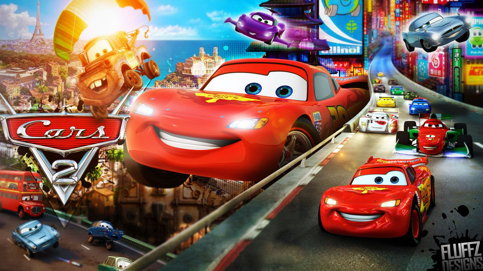 Cars 2 Wallpapers Group (74+)
