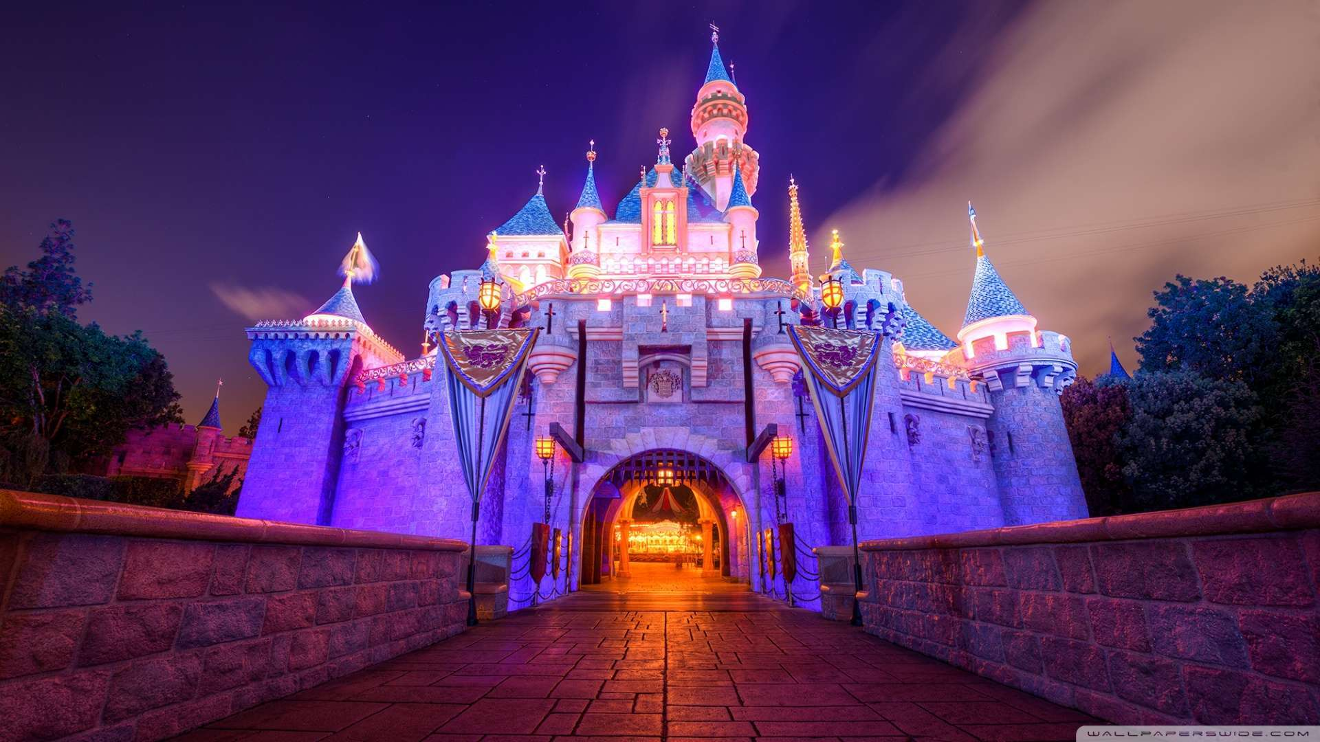 Disneyland Castle Wallpaper - WallpaperSafari