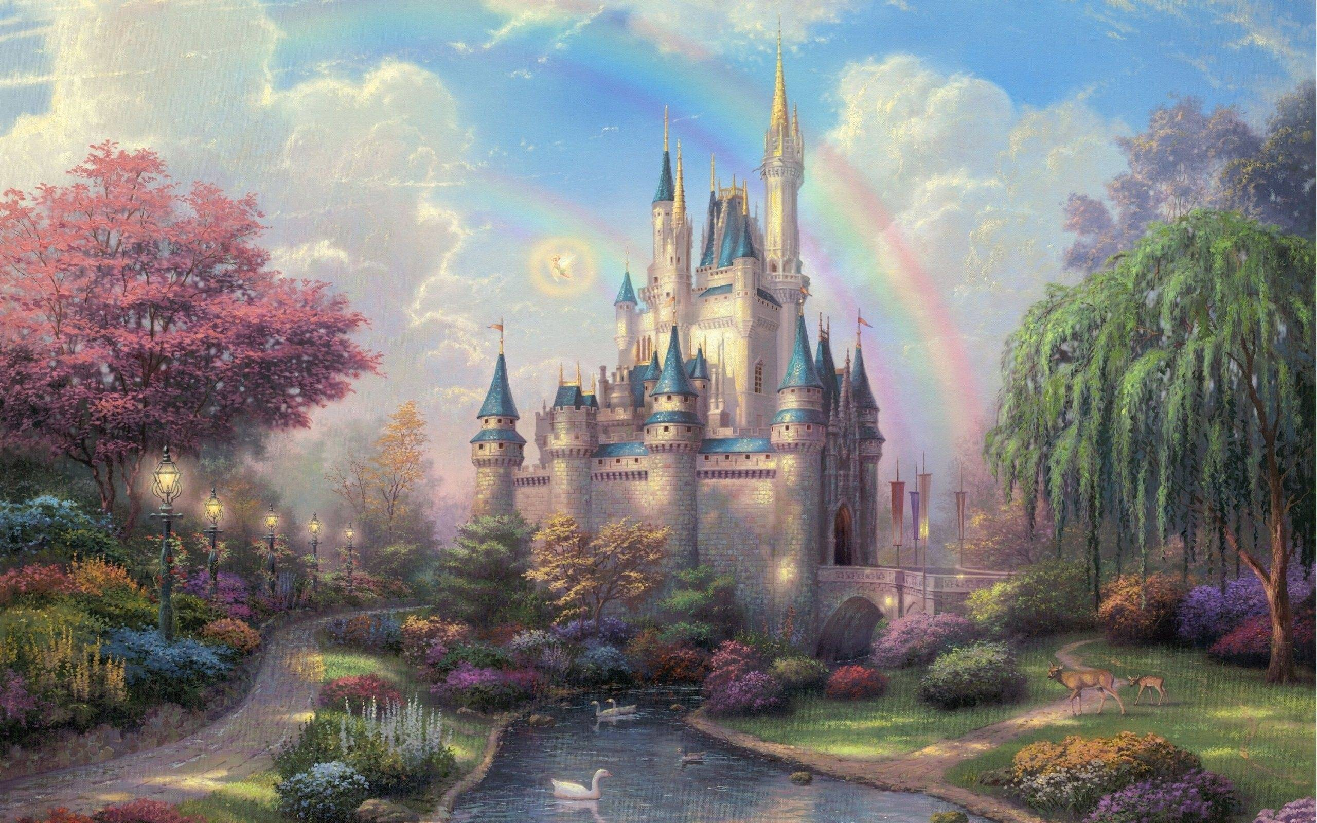 Disney Castle Backgrounds - Wallpaper Cave