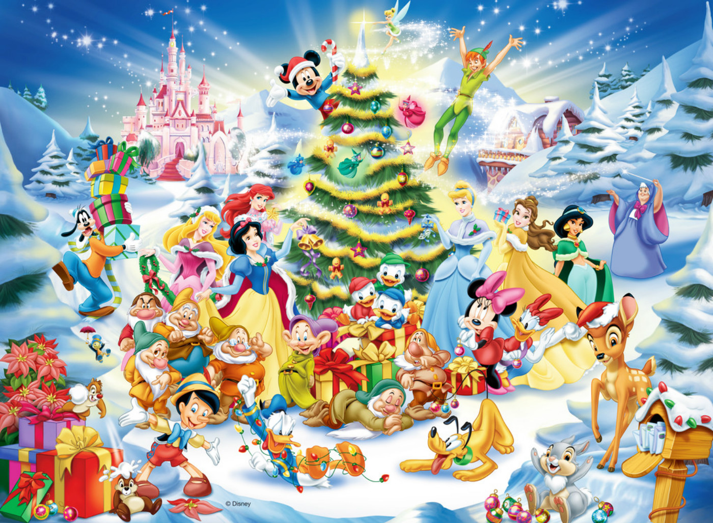 Excellent Collection: Christmas Disney Wallpaper, HDQ Cover