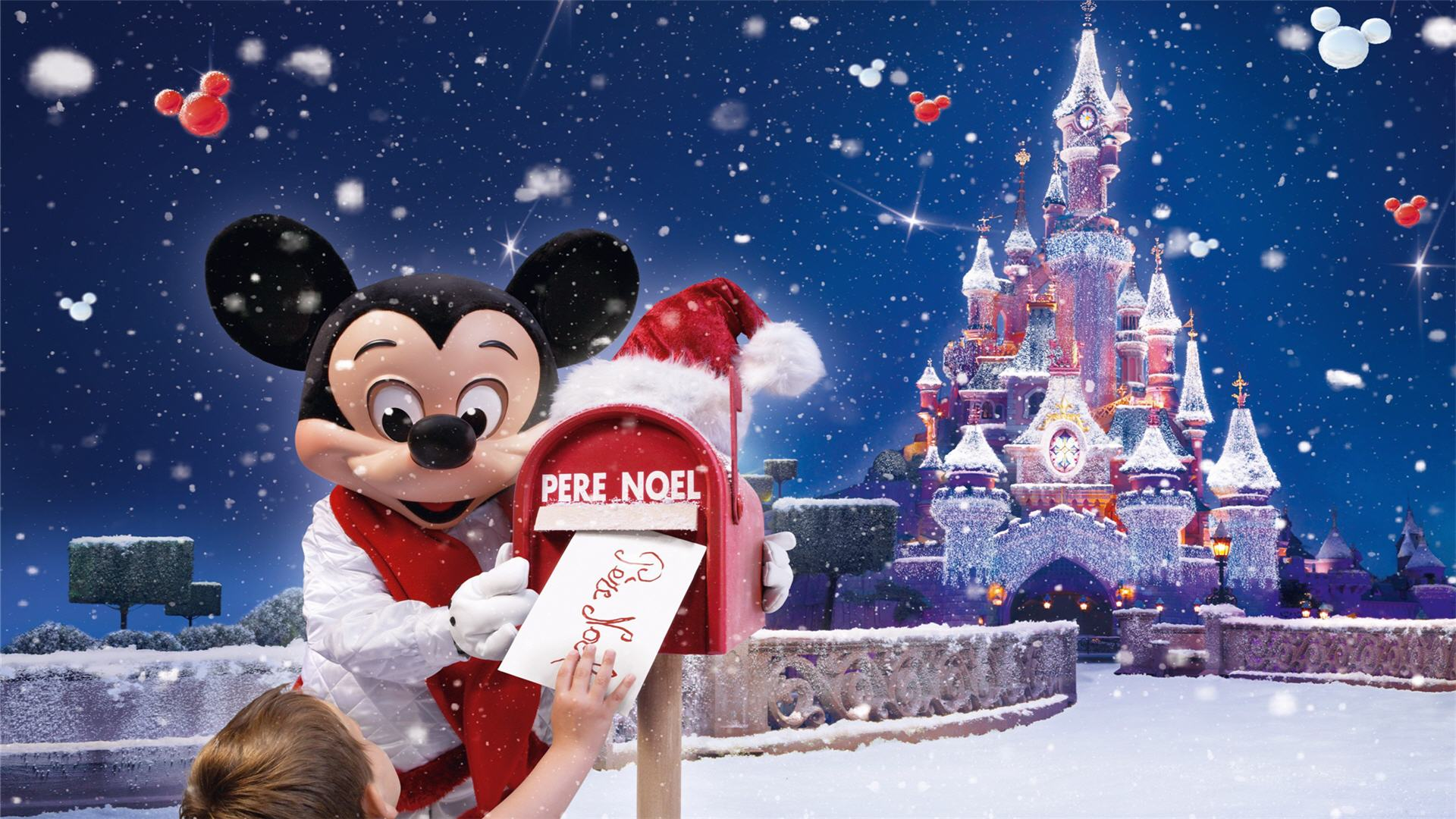 Disney Christmas Wallpapers - WallpaperSafari