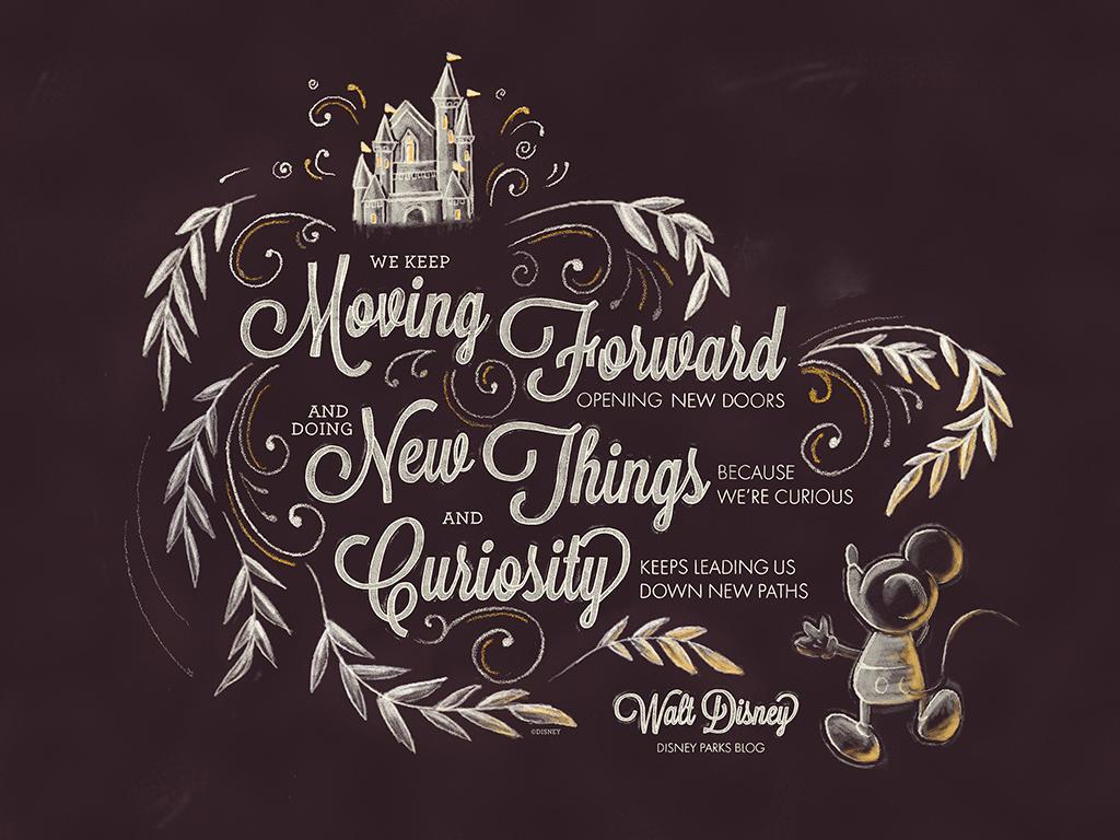 Exclusive: Walt Disney Desktop/Mobile Wallpaper | Disney Parks Blog