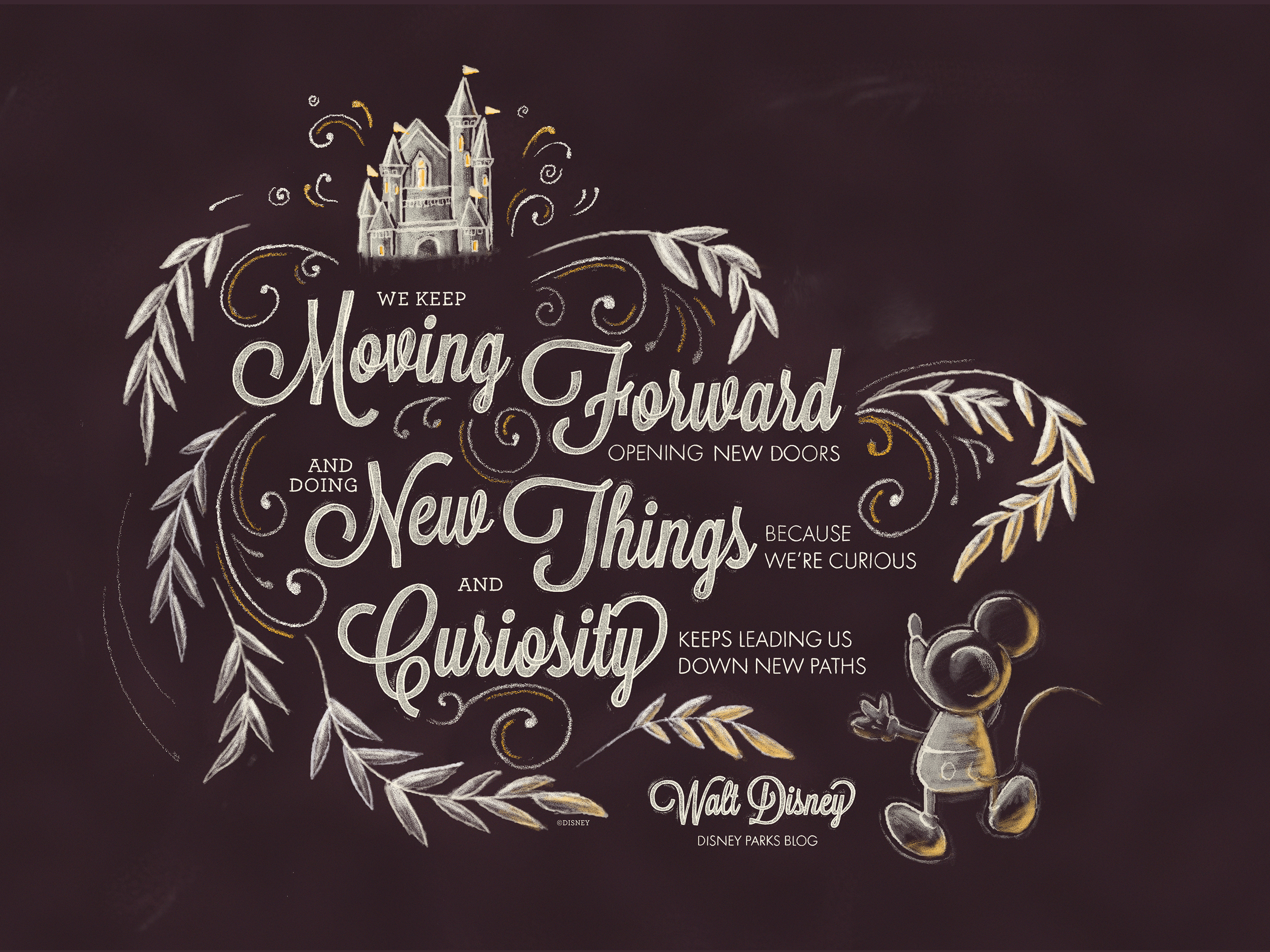 Exclusive: Walt Disney Desktop/Mobile Wallpaper | Disney Parks Blog