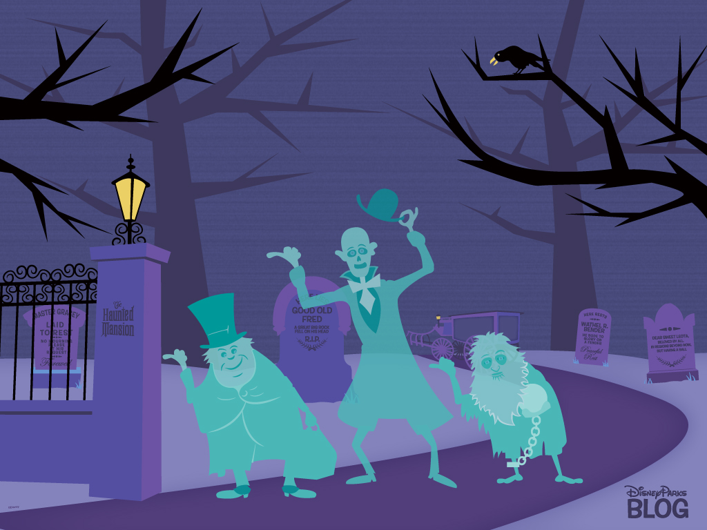 Halloween Desktop Wallpapers | Disney Parks Blog