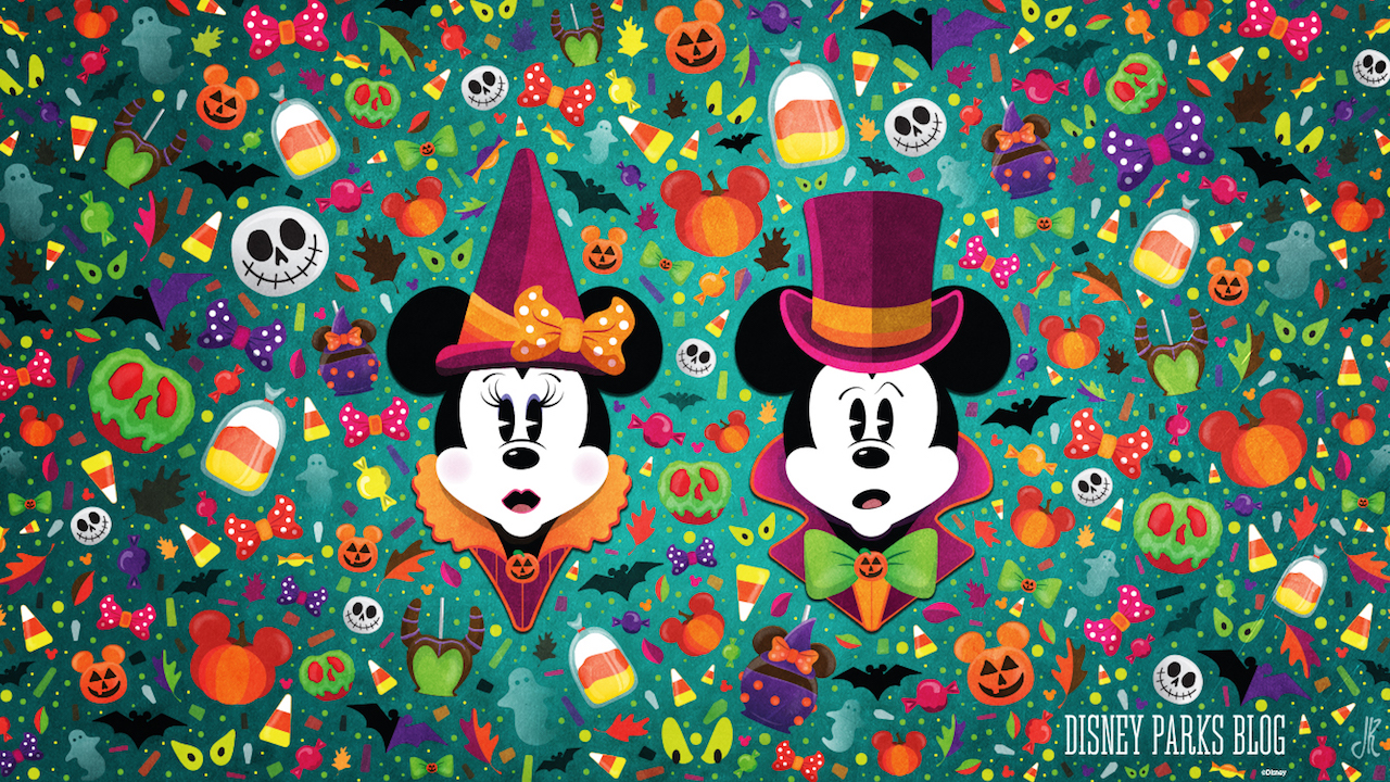 Celebrate a #WonderFALLDisney With Our Halloween Wallpaper