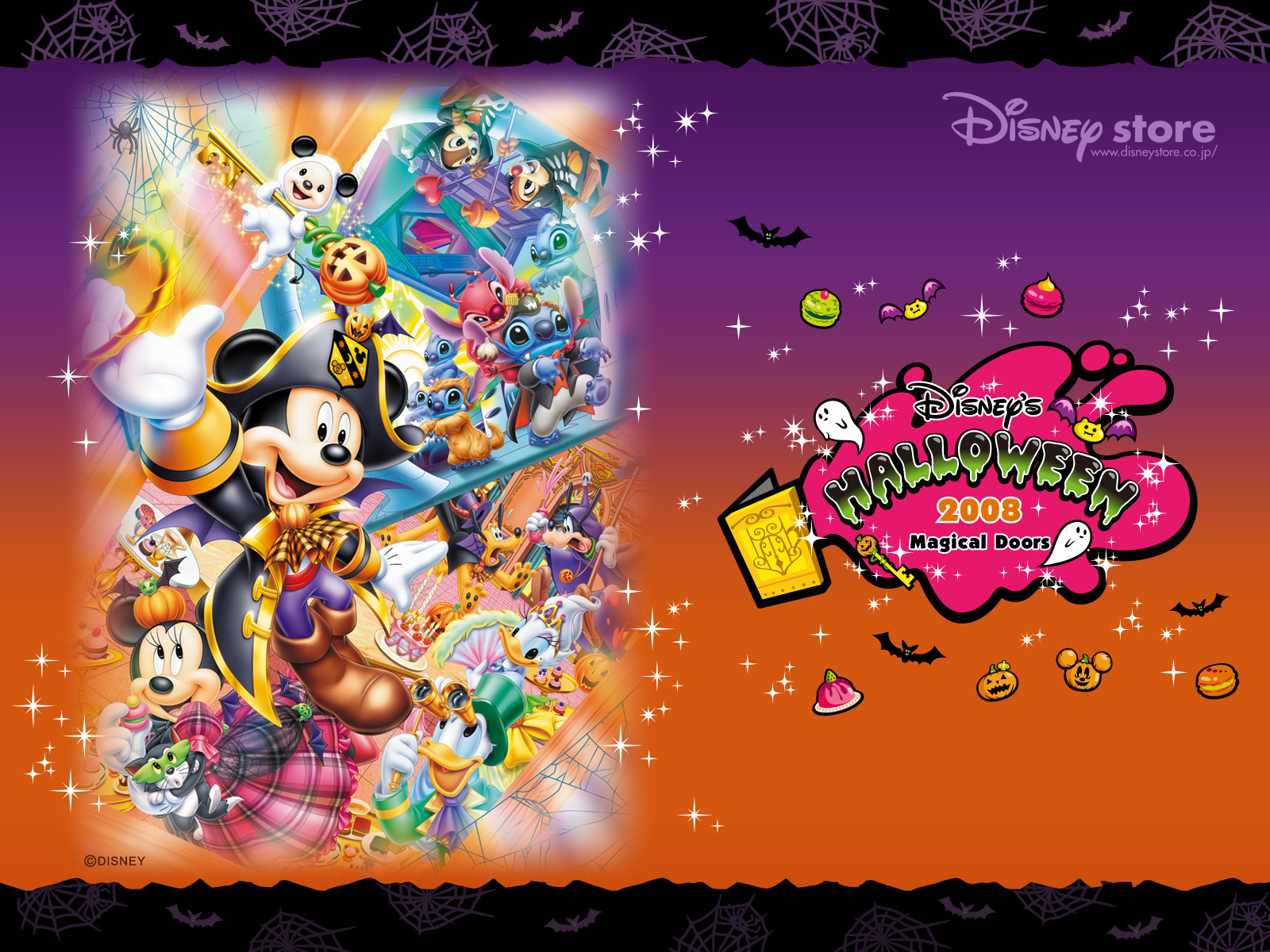 Disney Halloween Wallpaper Backgrounds - WallpaperSafari