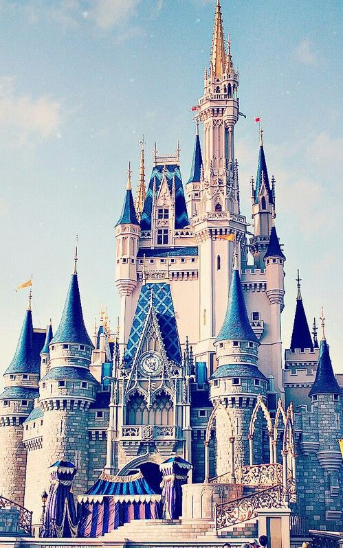 1000 Ideas About Disney World Castle On Pinterest