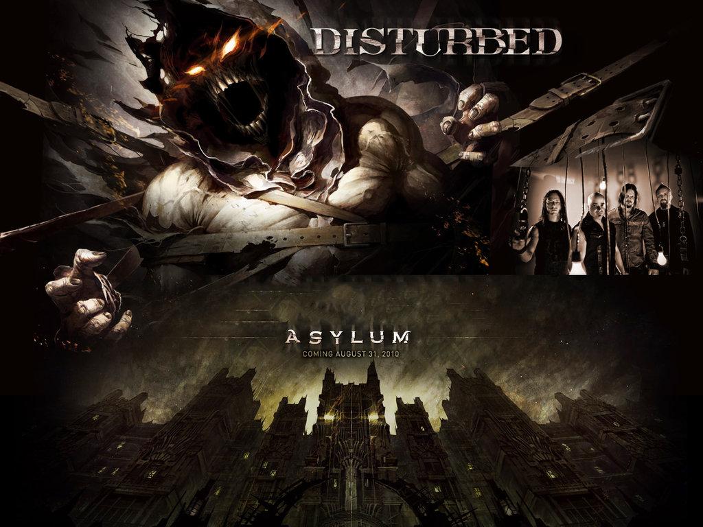 Disturbed Asylum Wallpaper - WallpaperSafari