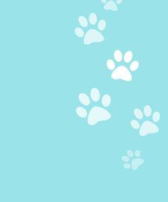 puppy paw print wallpaper - Bing images | Paw Prints! | Pinterest