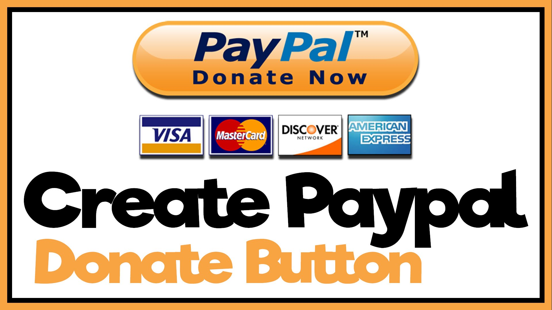 How To Make A Paypal Donate Button - Paypal Tutorial - YouTube