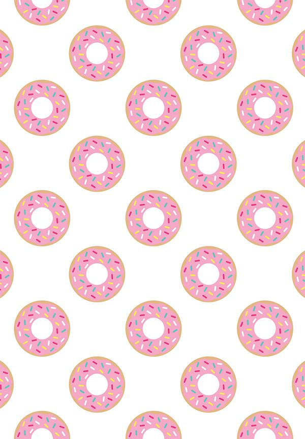 17 Ideas About Donut Background On Pinterest