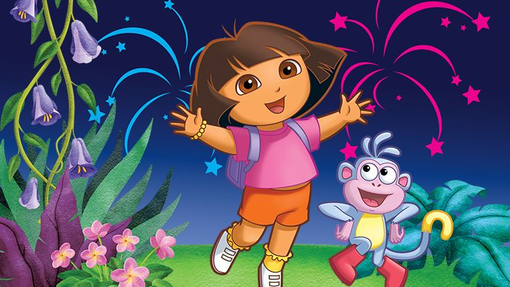 Dora images sf wallpaper dora the explorer dora goes to school leapfrog voltagebd Image collections