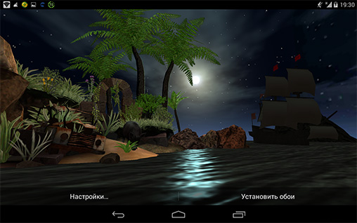 Lost island HD live wallpaper for Android  Lost island HD free