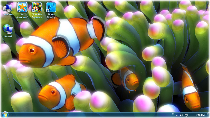 Clownfish Aquarium Live Wallpaper - Download