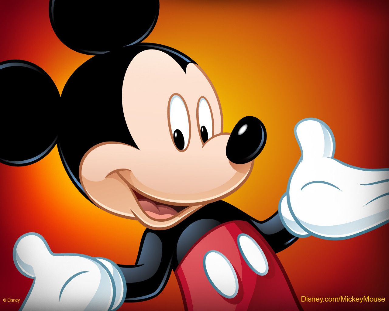 Download Wallpaper Mickey Mouse Page 1