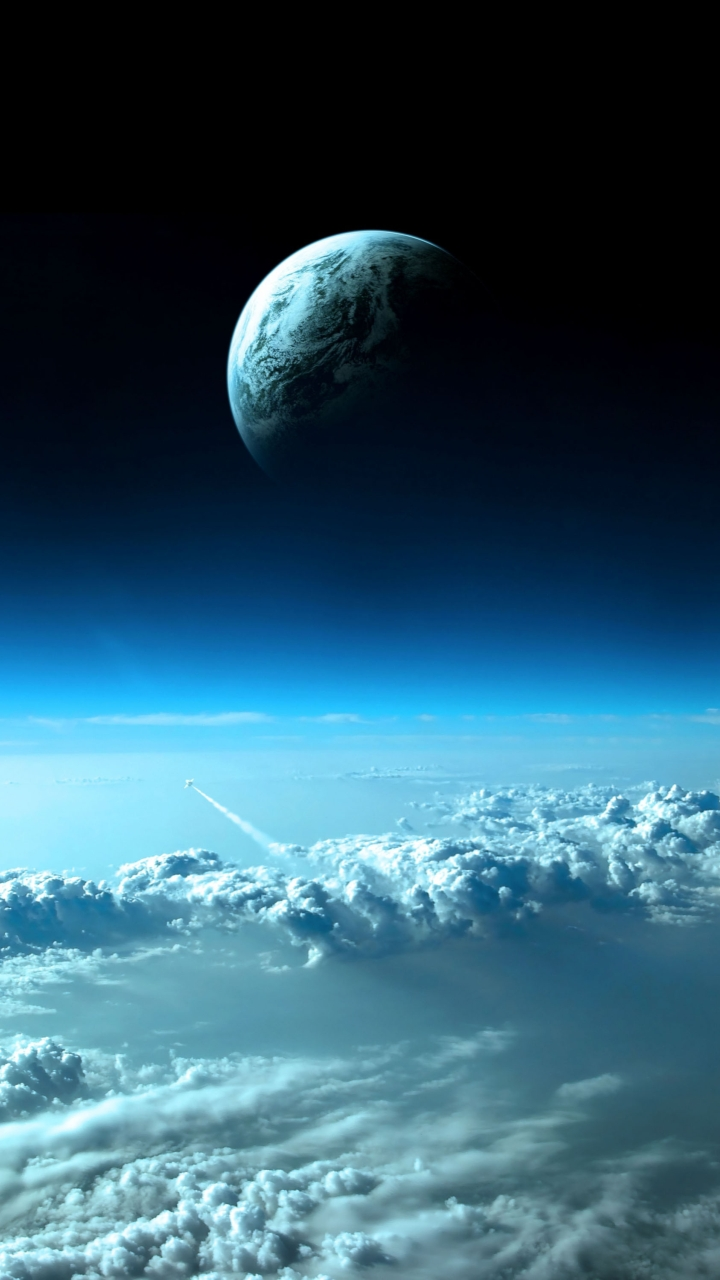 Beautiful Space ViewSamsung Wallpaper Download | Free Samsung