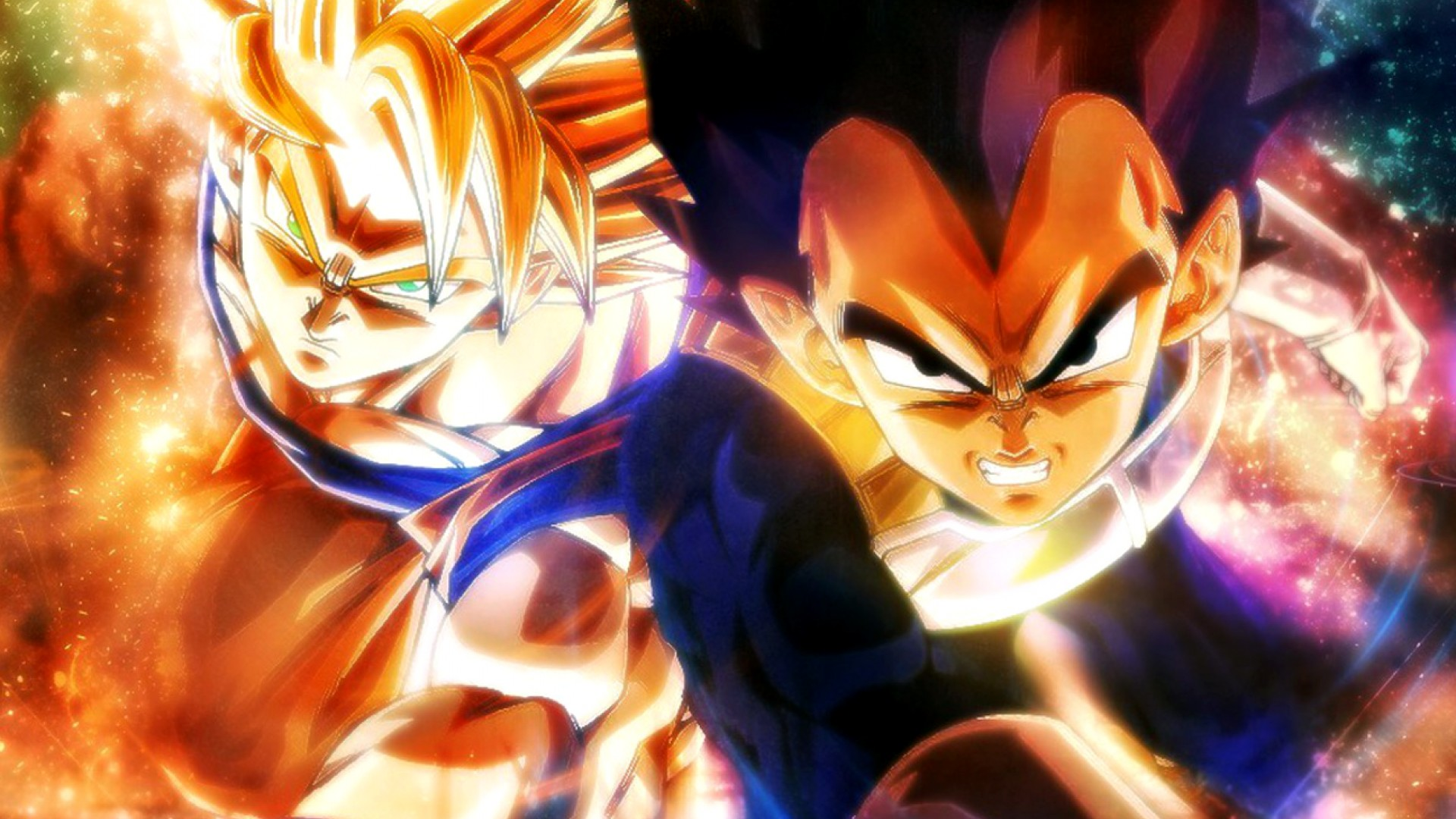 dragon ball z super saiyan wallpaper - sf wallpaper