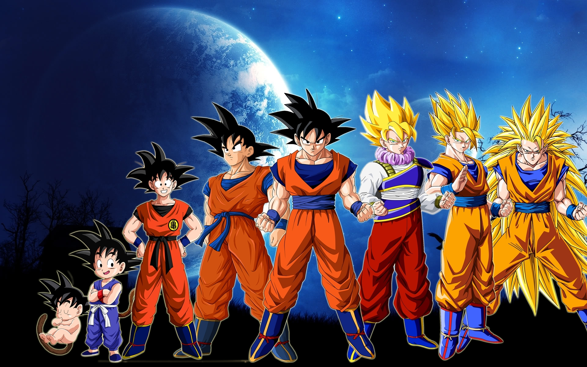 Super Saiyan Goku Wallpaper - WallpaperSafari