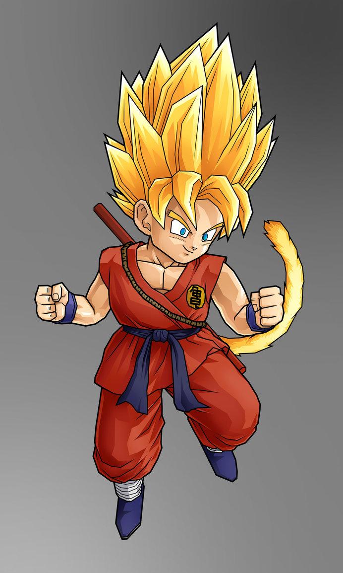DRAGON BALL Z WALLPAPERS: Goku super saiyan 2