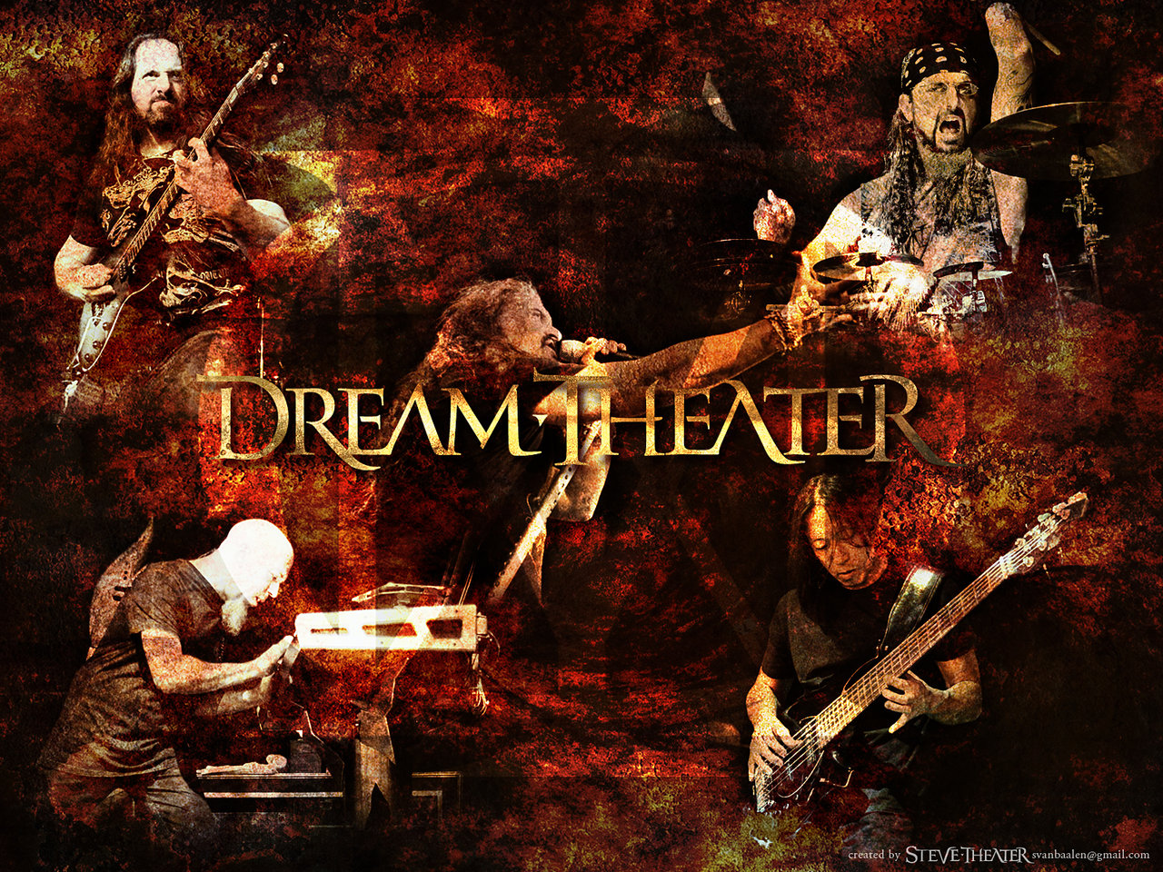 Dream Theater wallpaper by Steve1969 on DeviantArt
