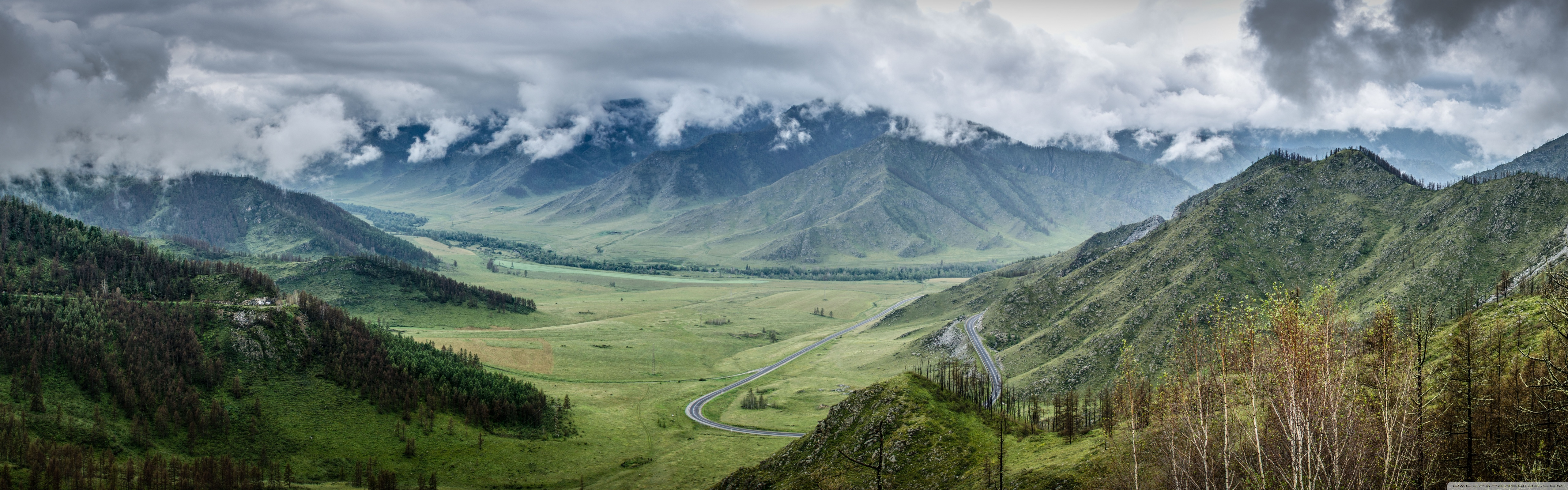 Altai Mountains, Russia HD desktop wallpaper : Widescreen : High